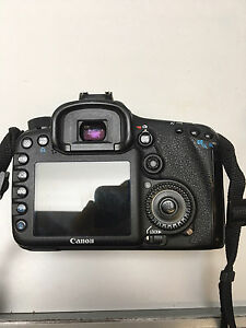 Canon 7D with lenses