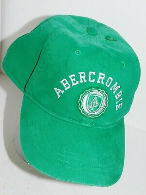 Abercrombie Hat Womens Green Cap NWT Fitch