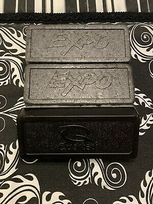 2 Expo Whiteboard Erasers And 1 Quartet Eraser. Opened Not Used