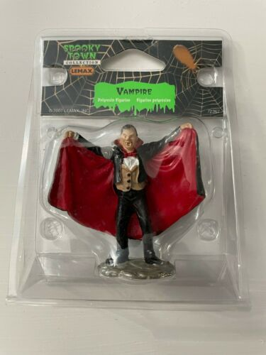 *NEW* Lemax Spooky Town #72367 Vampire Dracula Monster Accessory Figure! L@@K