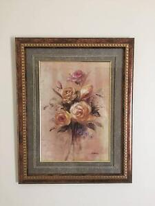 Framed floral prints Geelong Geelong City Preview