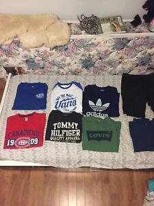 Men's t shirts vans,Levi's,adidas,tommy hilfiger  and more