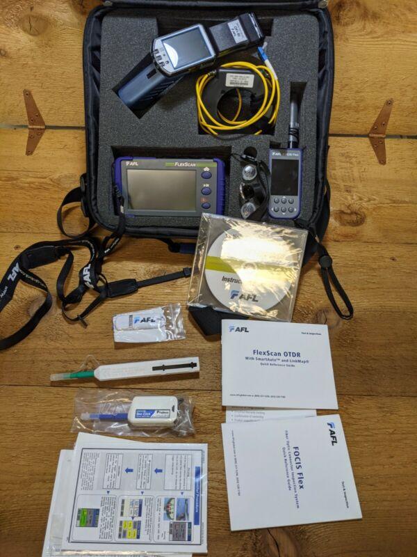 AFL Noyes FS200-304U FlexScan SM Fiber OTDR w/ FOCIS Flex 2 & Identifier