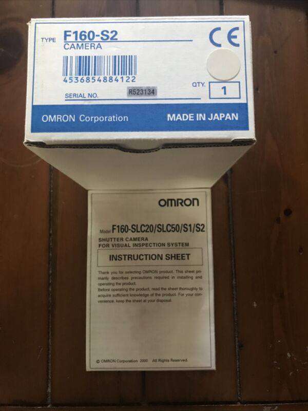OMRON F160-S2 CAMERA
