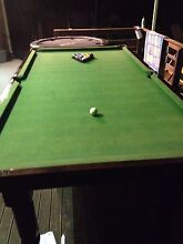 Slate and hardwood 3/4 size Pool Table for sale Coolum Beach Noosa Area Preview