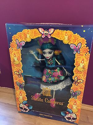 Monster High Skelita Calaveras Collector Doll Brand New
