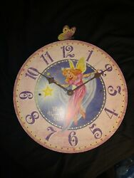 NEW Timeworks Storytime Collection Fairy 13 Girl's Room Nursery Wall Clock