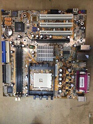Leadtek WinFast 761gxk8mc AMD Sockel 754 Mainboard Gebraucht Und Getestet