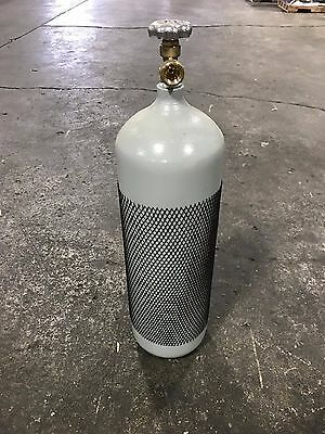 60 Cf Welding Cylinder Tank Bottle For Argon- 7525- Nitrogen Dot New 10 Year