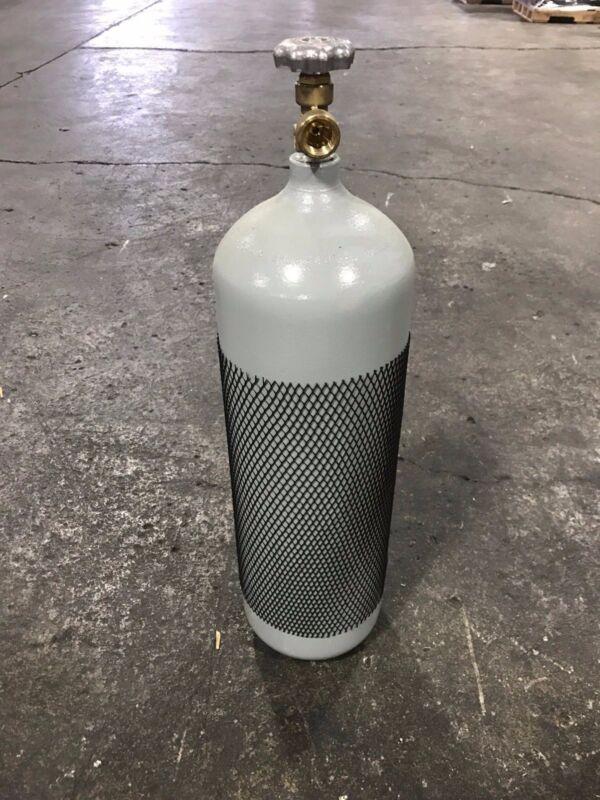 60 CF WELDING CYLINDER tank bottle for Argon- 75/25- Nitrogen DOT new 10 year
