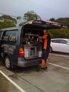 Mobile Coffee Van existing busy business for sale Port Macquarie