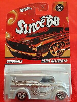 HOT WHEELS Dairy Delivery SINCE 68 SERIES Originals SILVER #1/10 2007