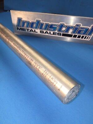 7068 T6511 Aluminum Round Bar 1-18 Dia X 24-long-1.125 Dia 7068 Lathe Stock