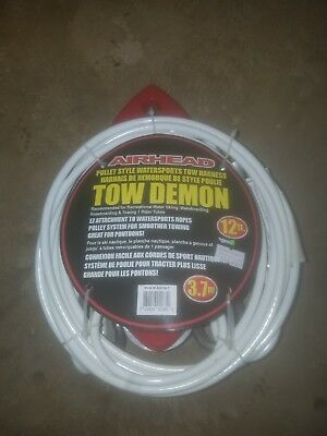 Kwik Tek AHTH-7 Airhead Tow Demon Boat Cable Tow Harness