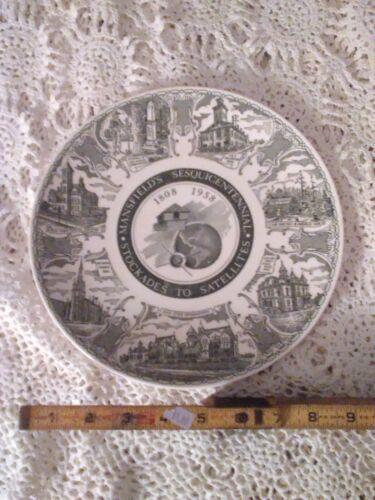Vintage 1958 Ohio Reformatory 150TH Anniversary Collector Plate Shawshank Haunt