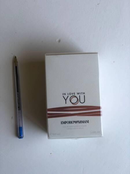 Emporio Armani In Love With You Eau De Parfum 100ml Accessories