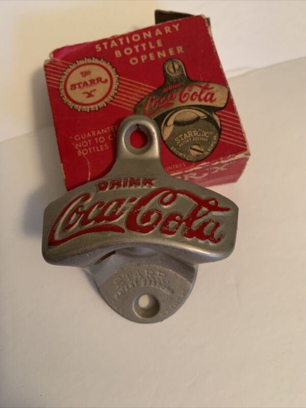 "Vintage Coca Cola Bottle Opener STARR ""X""  USA  Newport News, VA #2333088 #6"