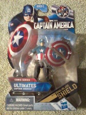 2011 Hasbro Marvel Comic Series Ultimate Captain America Figure (New)