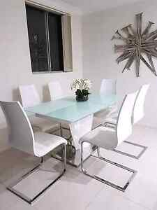 CLEAN CLASSY! Dinning Table + Chairs !! Bankstown Bankstown Area Preview