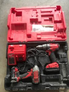 Milwaukee m18 fuel drill and impact