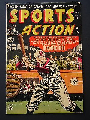 Sports Action #14  VG/F  1952  Golden Age Atlas Comic Book
