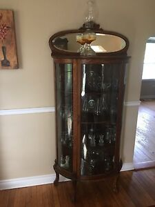 Antique China Cupboard ORIGINAL HARDWARE