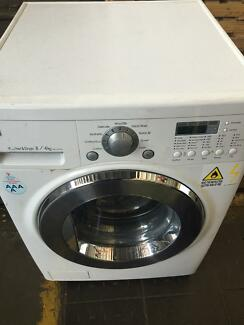 LG WASHER/DRYER COMBO - PERFECT CONDITION - 7KG - FAMILY SIZE