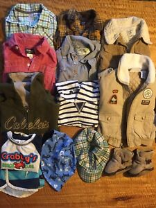 Boys 6-12 months clothing