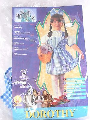 Infant Child Girl 1-2 Dorothy Wizard of OZ Halloween Party Costume Decoration  (Baby Girl Dorothy Costume)