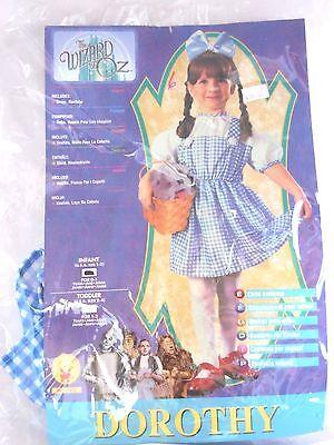 Infant Dorothy Halloween Costume (Infant Child Girl 1-2 Dorothy Wizard of OZ Halloween Party Costume Decoration)