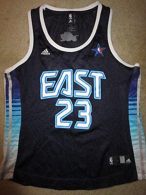 LeBron James #23 Cleveland Cavaliers Adidas NBA All Star Jersey Womens LG L