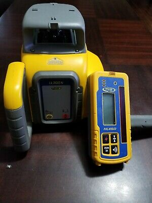 Spectra Precision Laser Ll300n Automatic Self-leveling W Level Receiver Remote