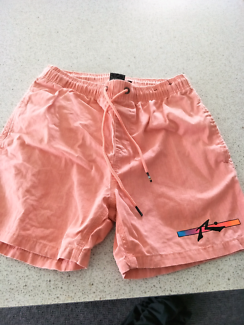 Men's Rusty shorts and hurley T-shirts