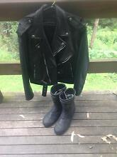 Motorbike jacket and boots Bowen Mountain Hawkesbury Area Preview