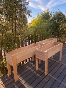 Planter boxes, Garden beds, Vegetable patch