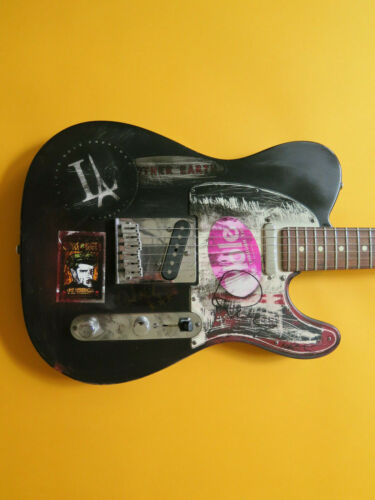 Paul Westerberg of The Replacements signed pick guard Telecaster
