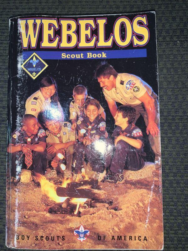 1990 Boy Scout Cub Scout Webelos Scout Book Book BSA