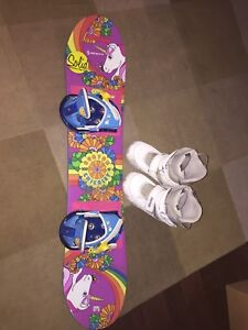 Girls Burton 100 Snowboard Package