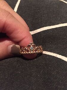Rose gold princess ring Oaklands Park Marion Area Preview