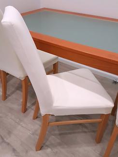 8 x Dinning chairs