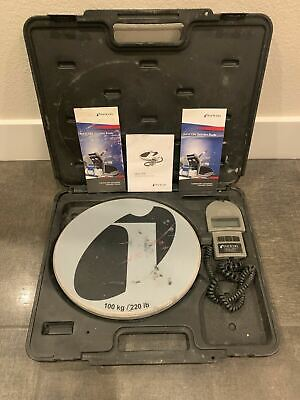 Wey-tek Inficon Refrigerant Charging Scale 220 Lb - Free Shipping 163-0233