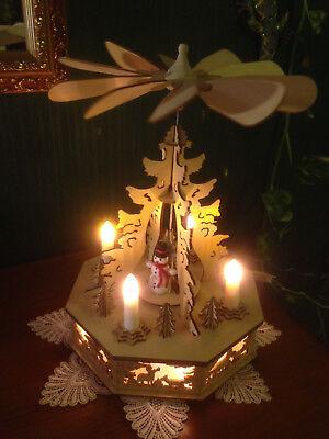 32 cm elektrische Weihnachtspyramide Pyramide Weihnachten 60742 SCH