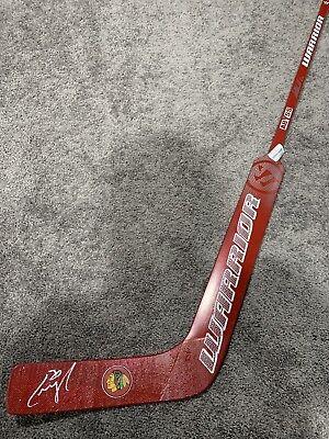 CAM WARD Chicago Blackhawks Autographed SIGNED Goalie Stick w/ COA