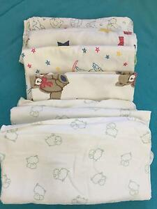 Flannelette bassinet sheets in good condition,  baby boy or girl Manly Vale Manly Area Preview