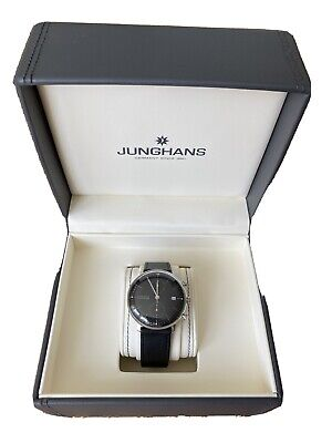 Junghans Max Bill Chronoscope Model: 027/4601.00  MINT - With one years warranty