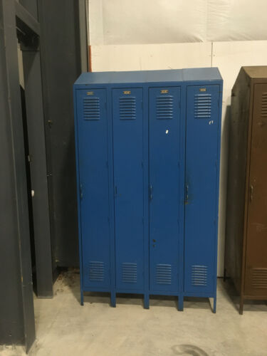 Lockers-Double sided, back to back