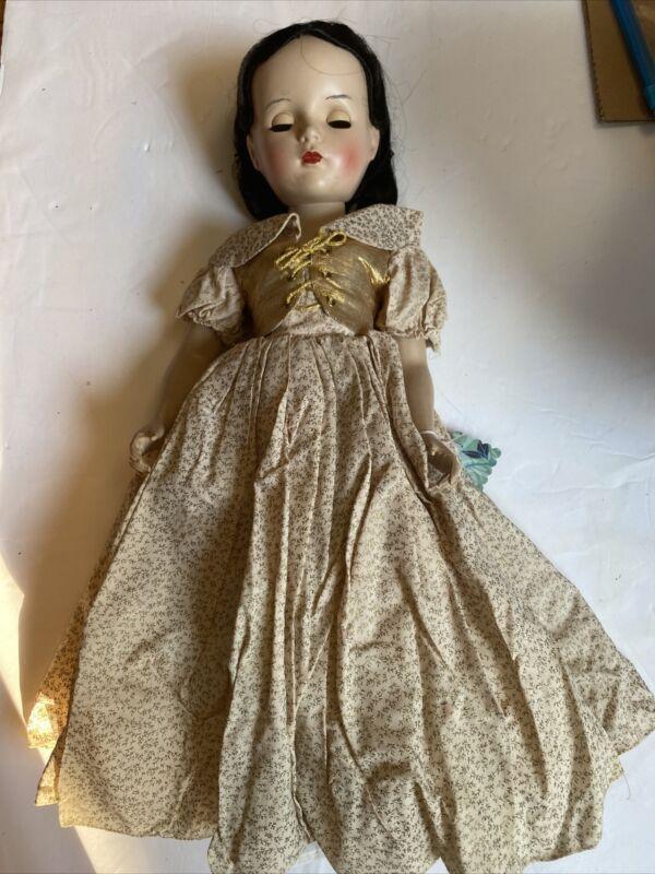 Vintage Walt Disney Snow White Madame Alexander 20 Inch As Is