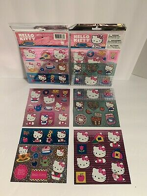2014 Savvi Hello Kitty Lot Of 3 50 Stickers Sets (150 Stickers)