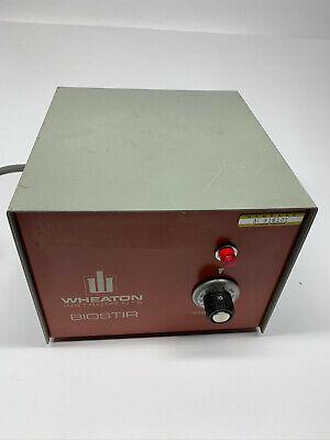 Wheaton Model Ii Biostir Magnetic Lab Stirrer 120v 902500 Works Great  A33