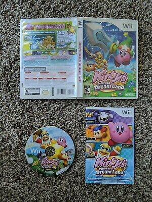 Kirby's Return to Dream Land  (Nintendo Wii, 2011) Complete w/ FREE Shipping